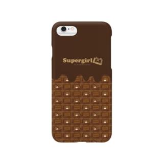 ぶちゃくま。チョコレート Smartphone cases