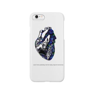 ハートグラフィックcoler Smartphone cases