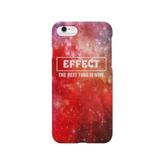 赤い宇宙EFFECT Smartphone cases