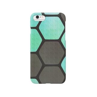 HACHINOSU_green Smartphone cases