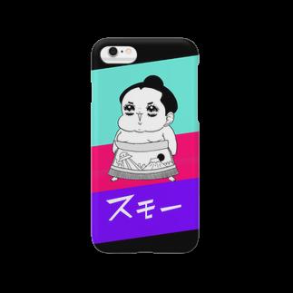 腹肉ツヤ子のスモー Smartphone cases