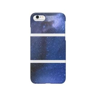 ネコ<星> Smartphone cases