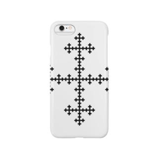 Fractal Vicsek Snowflake Smartphone cases