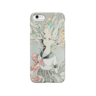 白い海 Smartphone cases