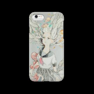 杉Eナの白い海 Smartphone cases