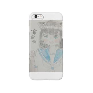 ねこみみJK Smartphone cases