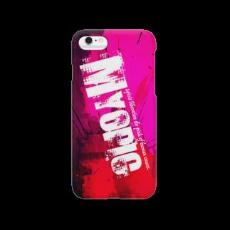まちゅ屋のMYOPIC_002 Smartphone cases