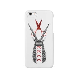 『角と赤』 Smartphone cases