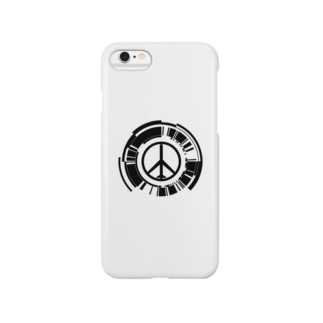 MGSPWピースマーク Smartphone cases