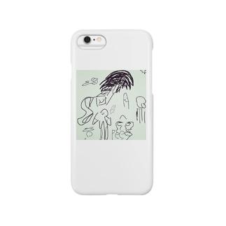 🍅ラクガキ🍅 Smartphone cases