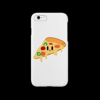 neetのスマイルピザ Smartphone cases