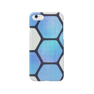 HACHINOSU_blue Smartphone cases