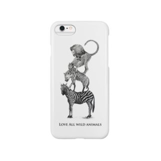 ArtSpringsのワイルドブレーメン(Love All Animals) Smartphone cases