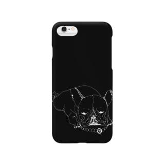 おしゃれフレンチブルドッグ Smartphone cases