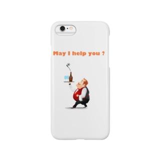ウェイター Smartphone cases