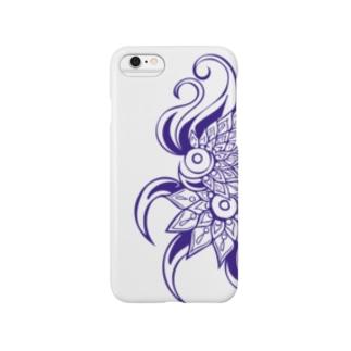 soulmateパープル Smartphone cases