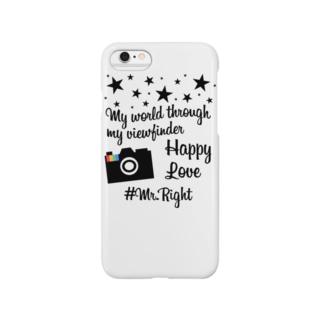 #ハッシュタグ インスタグラム風 Smartphone cases