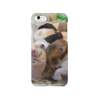 ムギュムギュでふ Smartphone cases
