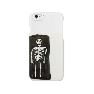 ガイコツさん Smartphone cases