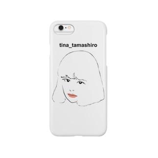 玉城ティナ非公認グッズ Smartphone cases