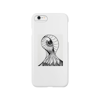 Creepy Eye Smartphone cases