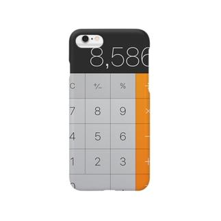 電卓iPhoneケース Smartphone cases