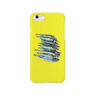 サディーン 黄色 Smartphone cases
