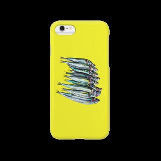 タカオカンパニーのサディーン 黄色 Smartphone cases