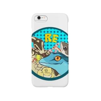 爬虫類いろいろ Smartphone cases