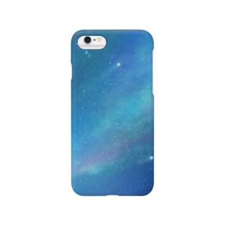 澄み渡る星空 Smartphone cases