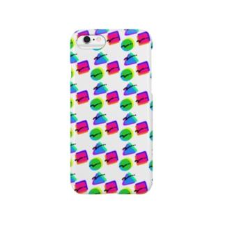 ○ △ □(ちかちかマシマシ) Smartphone cases