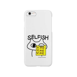 SELFISHねこやんか。 Smartphone cases