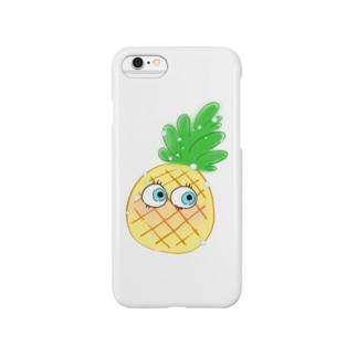 パイナップルンルン スマートフォンケース