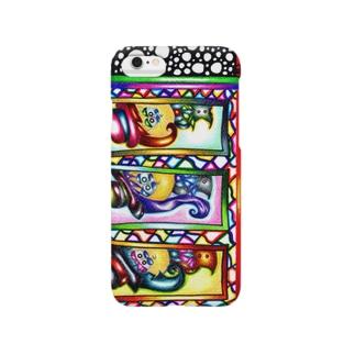 シルクハットットットット Smartphone cases