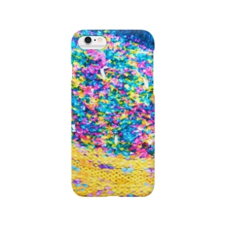 Flower Garden Yellow Smartphone cases
