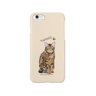 猫たまき Smartphone cases