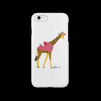 3pondSのキリンちゃん Smartphone cases
