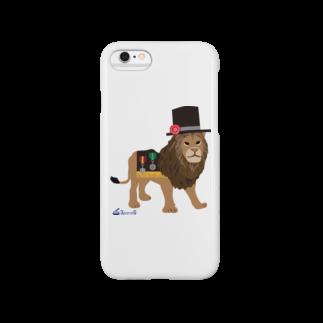 3pondSのライオンくん Smartphone cases