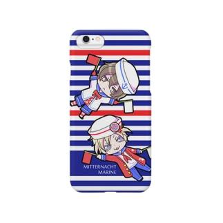 【深夜隊】零とヘル Smartphone cases