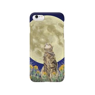 猫たまきの Smartphone cases