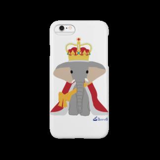 3pondSのゾウの王様 Smartphone cases