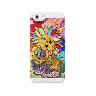 からふるライオン Smartphone cases