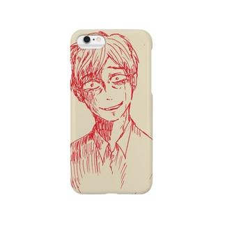 絶望の笑みスマホケース Smartphone cases