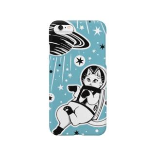 白猫の夢・宇宙の夢 Smartphone cases