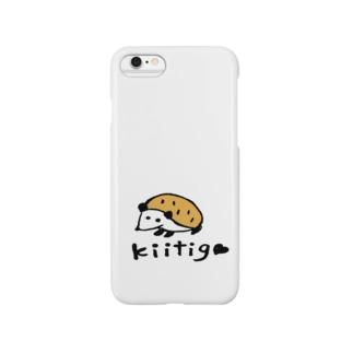kiitigoさんのハリネズミ Smartphone cases