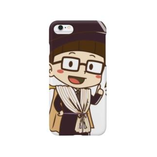 カーテンマンJr.(いいね)のスマートフォンケース Smartphone cases