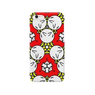 キモカワ模様 Smartphone cases