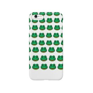 iPhone 絵文字カエルグッズ Smartphone cases