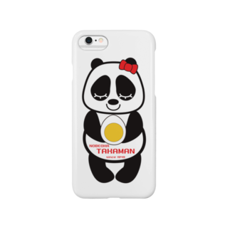 高田万十のパンダちゃん Smartphone cases