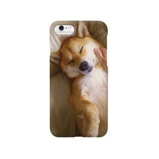 柴犬もふり Smartphone cases